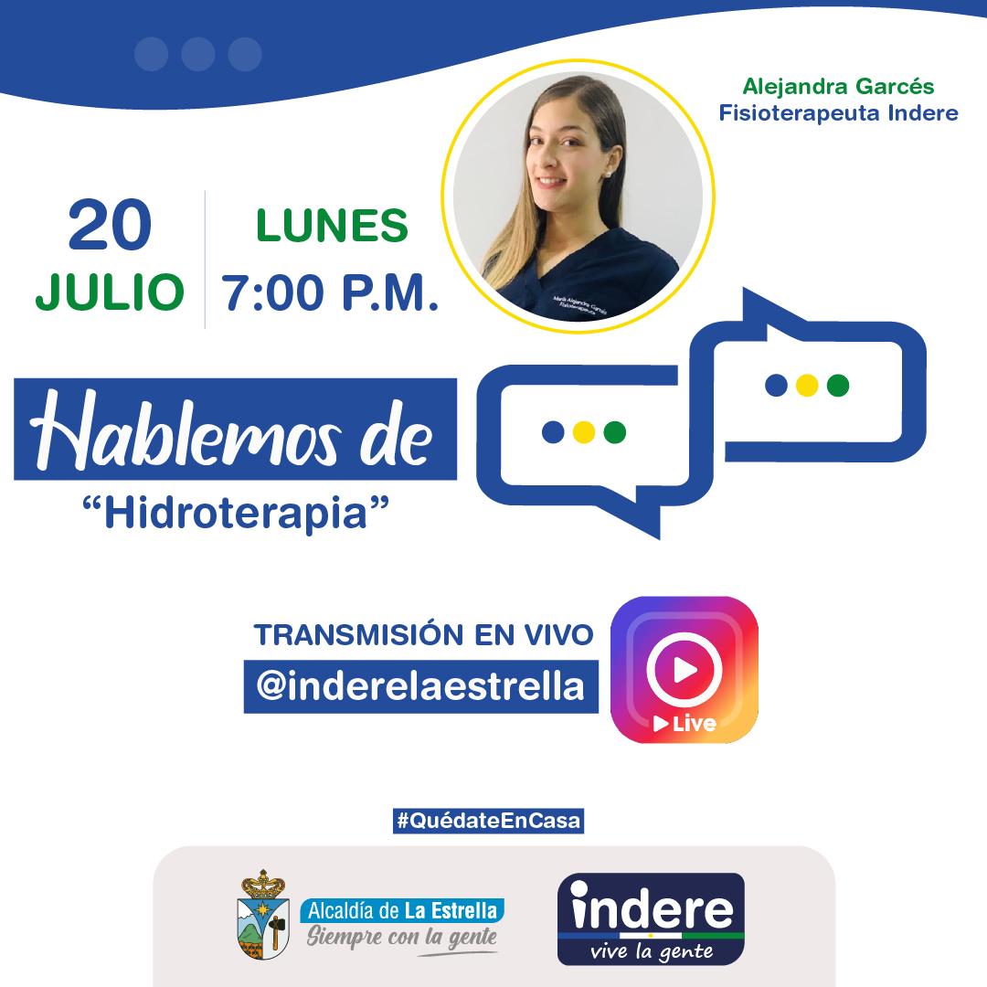 """Programa """"Hablemos de"""" Lunes 20 de Julio"""
