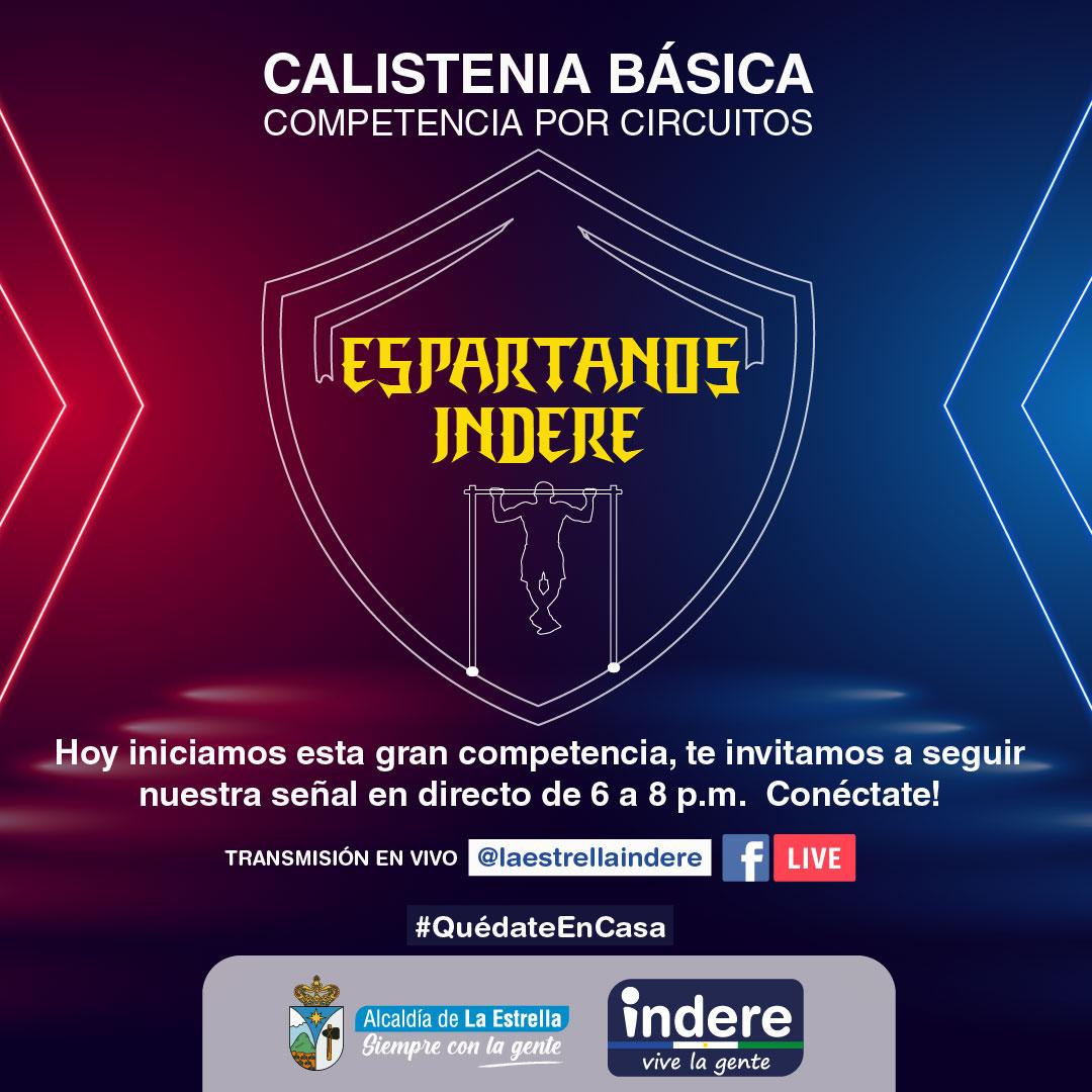 "Inicia Competencia de Calistenia ""Espartanos Indere"""