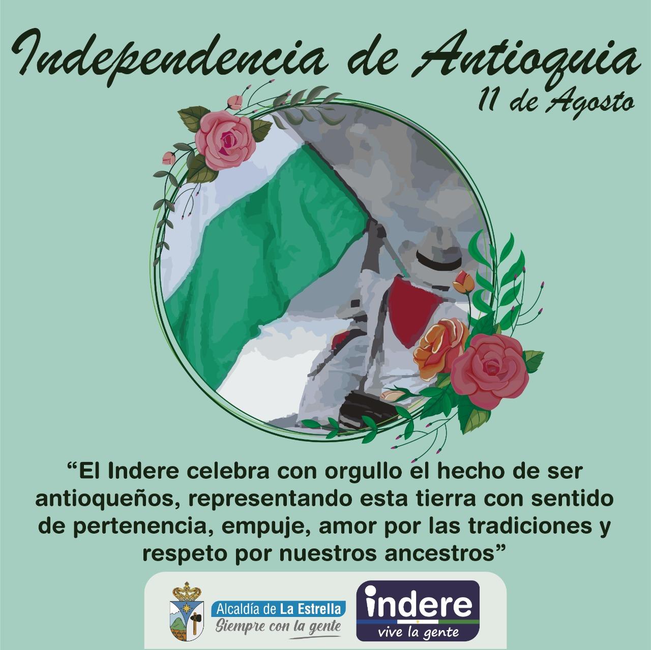Independencia de Antioquia 11 de agosto
