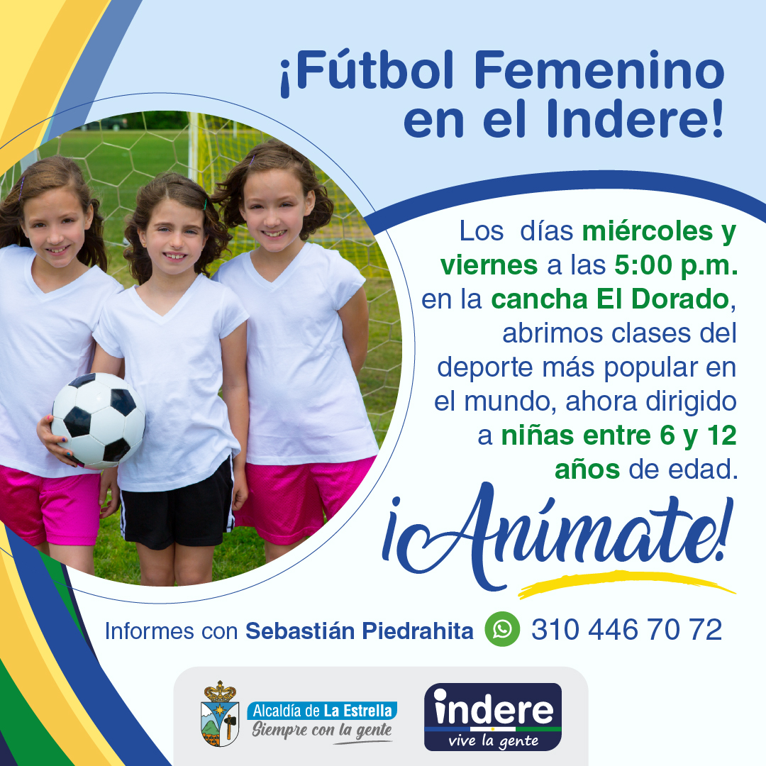 Fútbol Femenino en el Indere