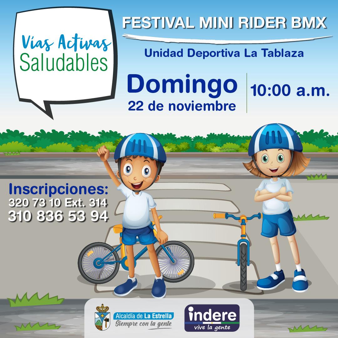 Festival Mini Rider BMX