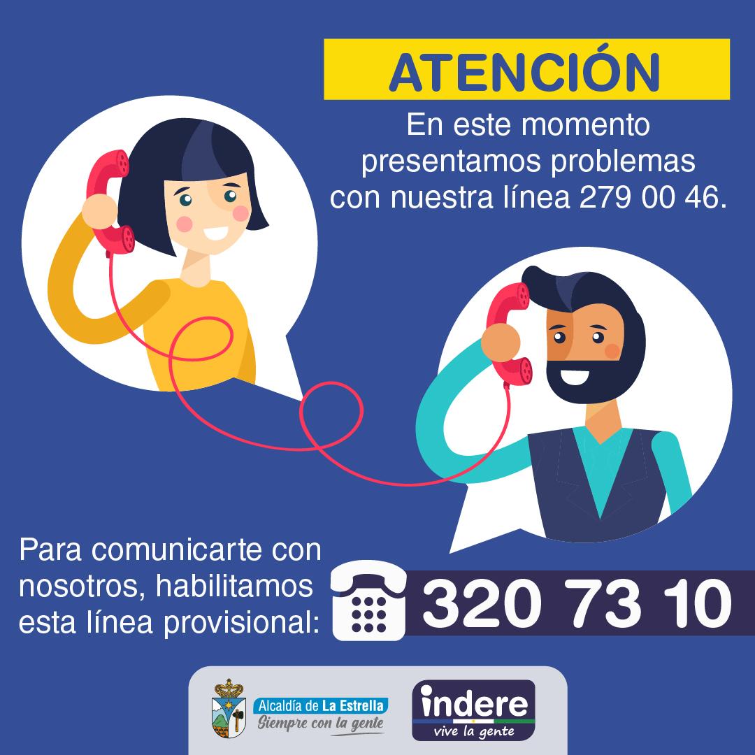 Línea Telefónica Disponible