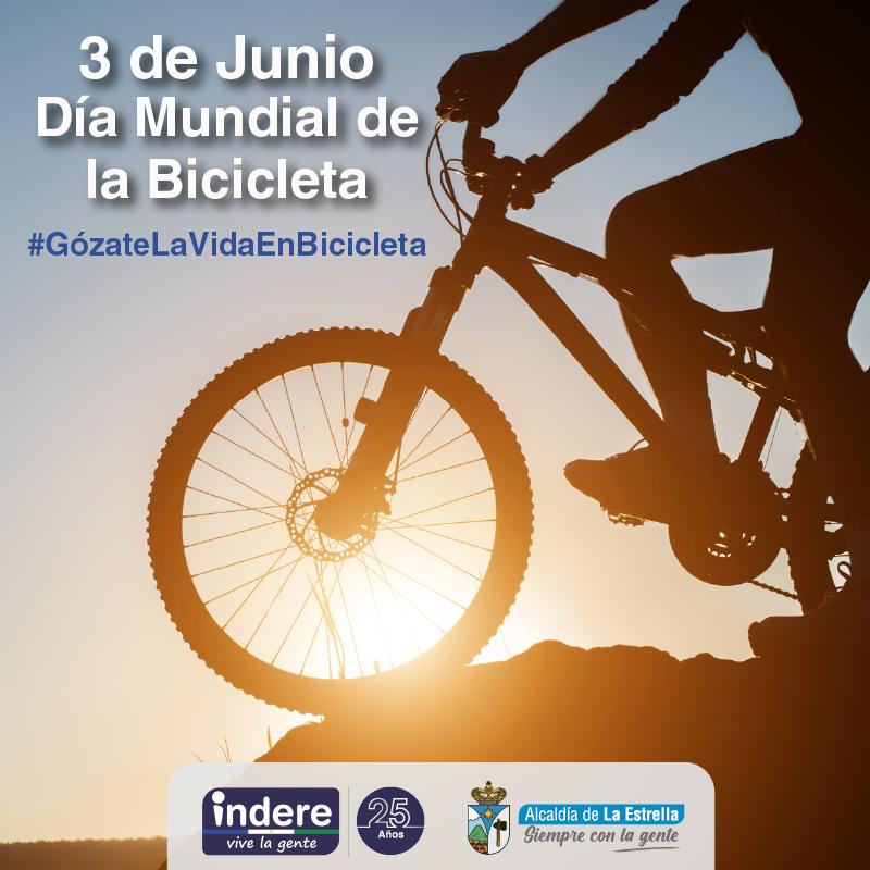 Junio 3 Día Mundial de la Bicicleta